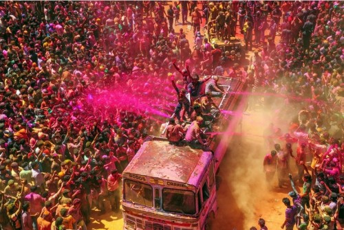 HOLI festivalis INDIJA
